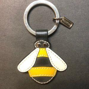 """Coach 2"""" Bee 🐝 keyring"""